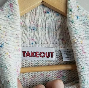 Takeout Sweaters - | takeout | confetti icecream sweater